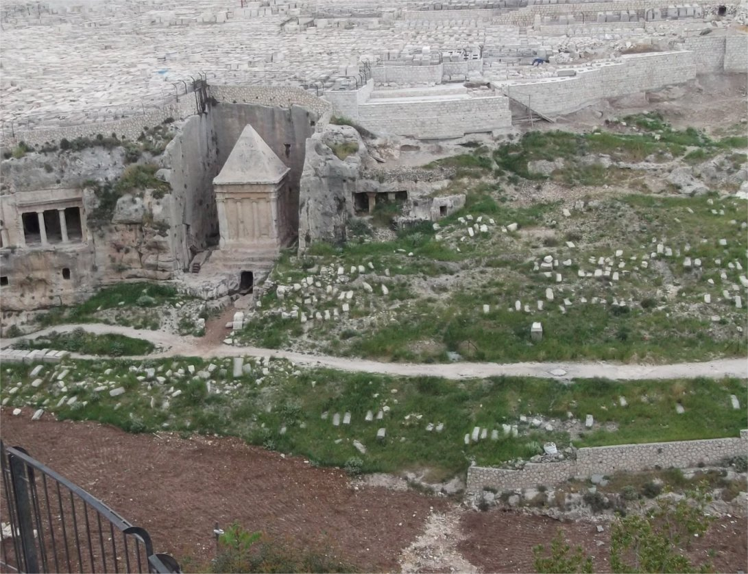 Mount Of Olives Tombs Tell The Location Of True East Gate